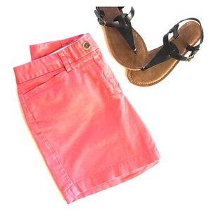 Lands' End shorts coral/red