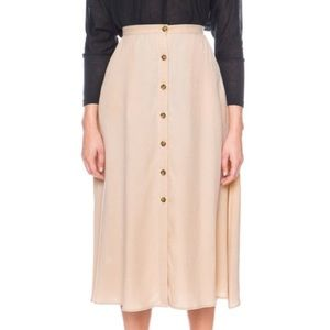The fifth label midi skirt