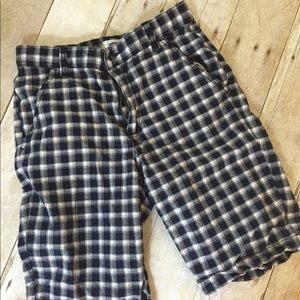 Old Navy Boys Plaid Shorts