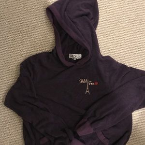 Wildfox Paris Hoodie Size Small