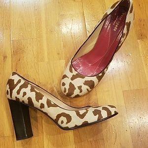 Kate Spade Calf Hair Cow Print Heel 8.5
