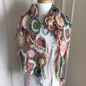 Vintage FP knit scarf