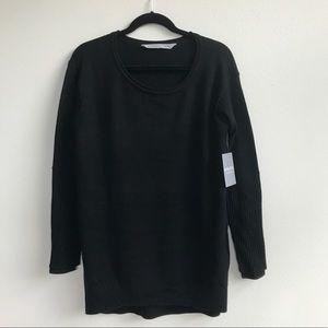 Athleta : NWT Women's Merino Nopa Sweater Black