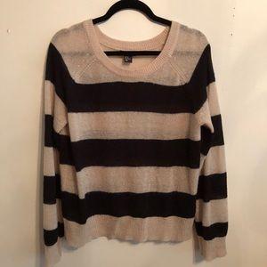 H&M lightweight striped sweater
