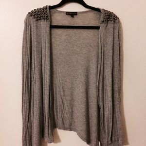Sweaters - Studded Cardigan