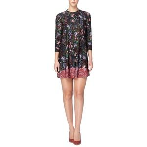NWT Catherine Malandrino Floral A-Line Dress