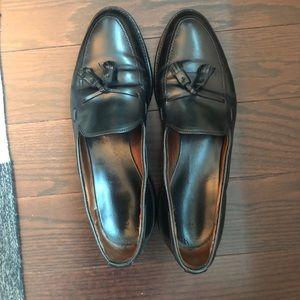 Allen Edmonds black leather dress shoes
