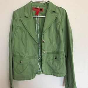 Mossimo Green Khaki Jacket