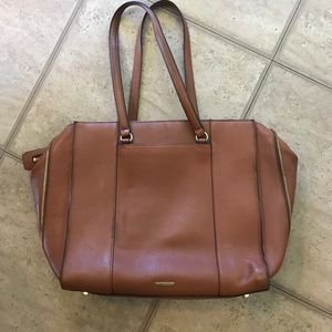 Gorgeous brown leather RM bag!