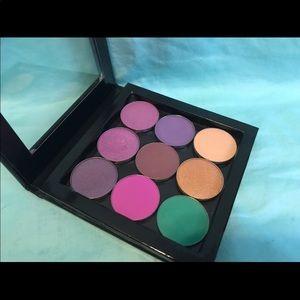 Z Palette & 7 morphe & 2 makeup geek shadows