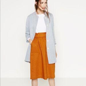 Zara mid length jacket