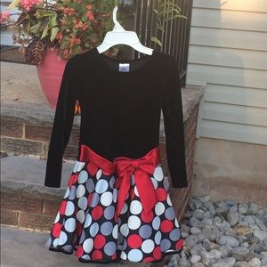 Other - Black and Red polkadot dress