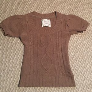 Tan Scoop sweater from Old Navy