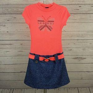 Other - Pink & Violet Girls Dress Size 10/12 (Girls)