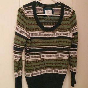 Fair isle wool blend Old Navy sweater sz M