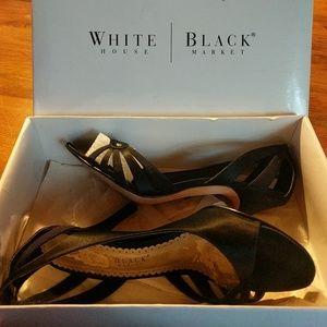 White House Black Market D'Orsay Heels IB