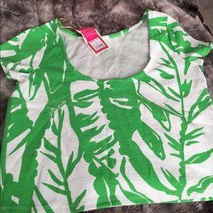 Lilly Pulitzer for Target crop top