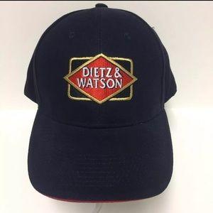NEW DIETZ & WATSON Blue Trucker Hat