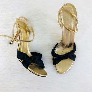 Kate Spade Gold & Black Knot Heel