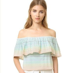 Mara Hoffman off-the-shoulder top