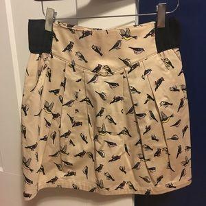 H&M bird skirt with pockets!