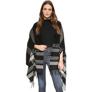 Madewell Wool Scarf Cape