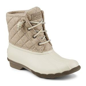 Sperry Saltwater Quilted Rain Boots
