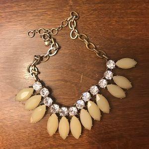 J.crew dewdrop statement necklace