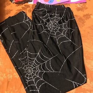 🕷🕸Torrid spiderweb leggings🕷🕸