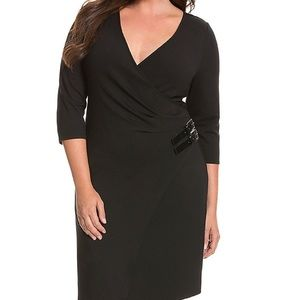 Lane Bryant 6th and Lane Double buckle dress