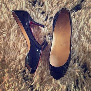 Christian Louboutin Peep Toe Heels