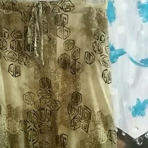 Beautiful Sag Harbor Large Soft Boho Skirt