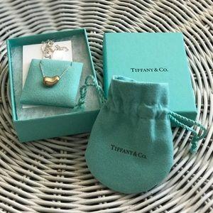 Tiffany & Co Elsa Peretti Medium Bean necklace