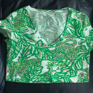 Lily Pulitzer V-Neck T-Shirt