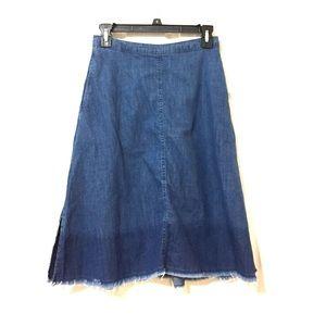 Midi Jeans Skirt
