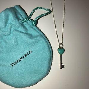 100% authentic tiffany bear key pendant