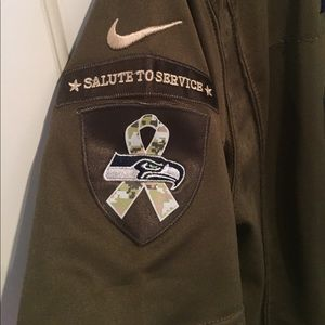 206c9d663 Nike Tops - Seattle Seahawks salute to service jersey (reposh)