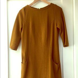 Boden Ottoman amber dress