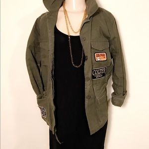 Army Jacket - Green - Forever 21