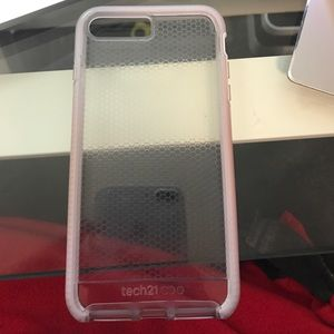 Clear tech 21 case iPhone 7/8 plus case