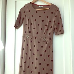 Boden polka dot Audrey dress