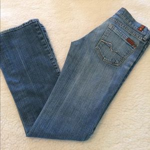 SEVEN 7 FOR ALL MANKIND Bootcut Jeans Sz 26