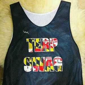 Other - University of Maryland Terp Swag Lacrosse Pinnie
