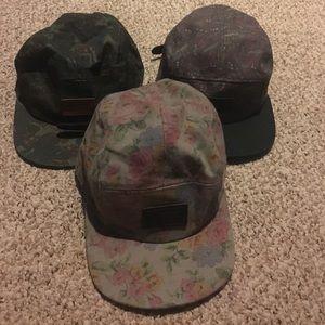 Vans 5 panel hats