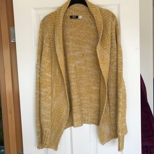 Urban outfitters mustard yellow cardigan