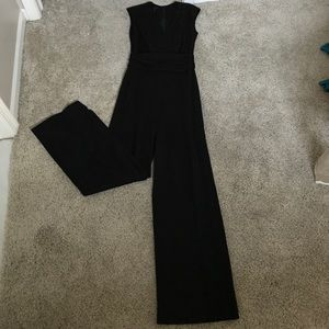 Euro size 36 (fits size 6) black Escada jumpsuit.