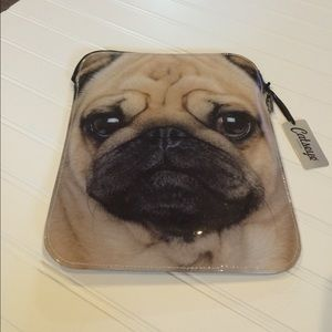 PUG LOVERS everywhere will love this iPad case