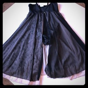 Costume for ballet, contemporary or lyrical Black
