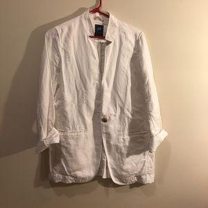 Lightweight linen/cotton jacket