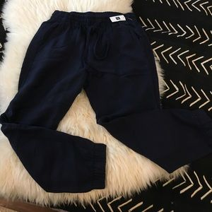 NWT GAP blue joggers